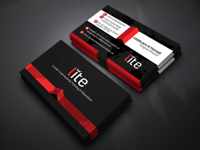 Design professional business card fiverr design a stunning and professional business card for you reheart Image collections