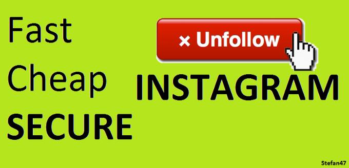 fast unfollow instagram online