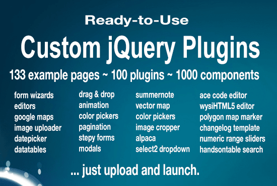 give you 100 jQuery example pages