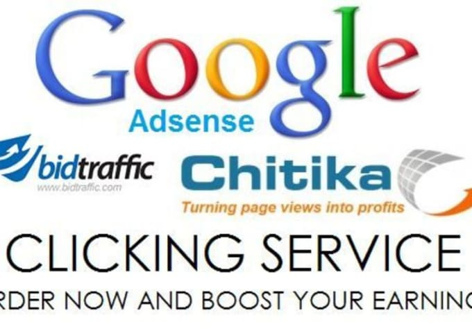 monkeyhub : I will boost your adsense/chitika/infolinks/bidtraffic ads for  3 days or 20 clicks for $5 on www fiverr com