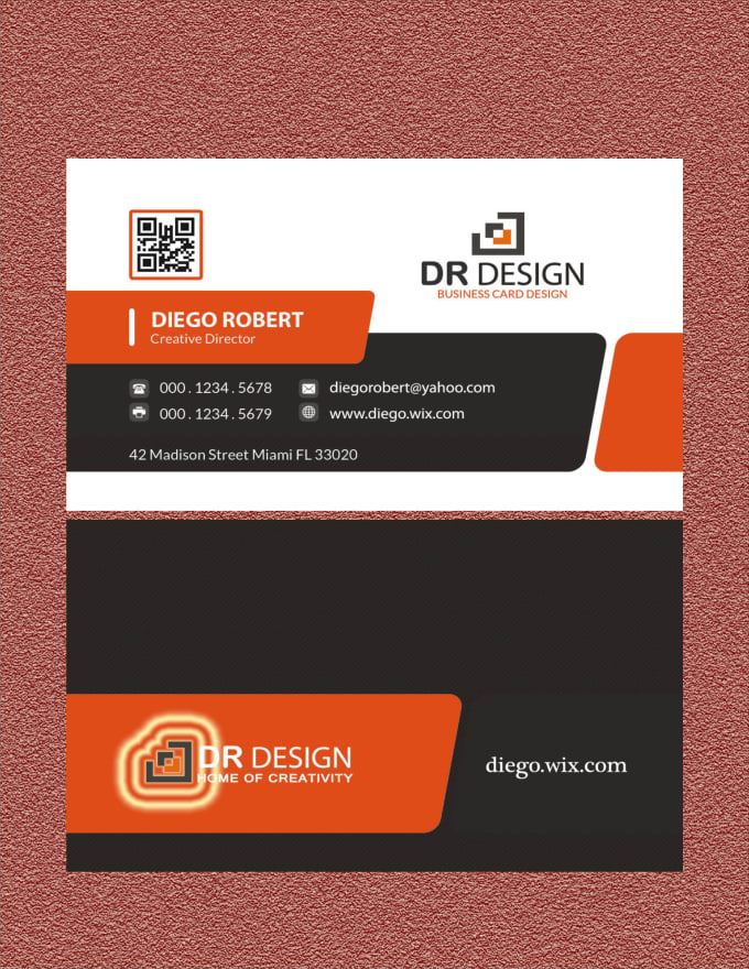 Design minimalist and unique business card within 24 hours by ...