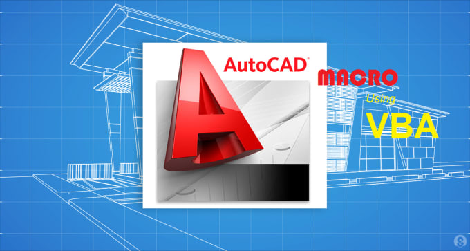 write AutoCAD VBA macro to automate your drawing task