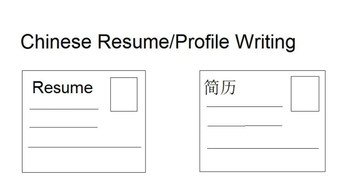 write a 500 words chinese resume by hlytranslator