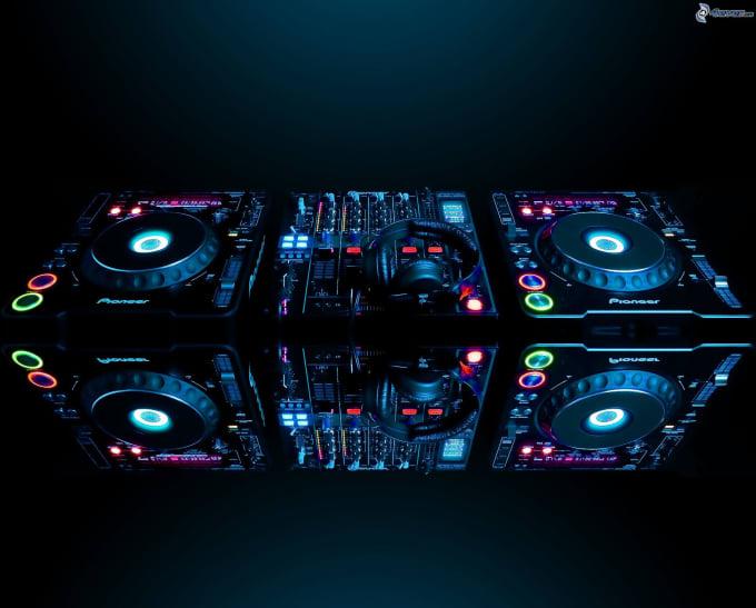 Make An Professional 3d Dj Logo Design