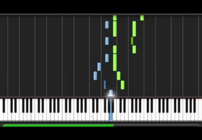 musicsocial : I will record a Synthesia video in HD of any song you want to  learn to play on the piano for $5 on www fiverr com
