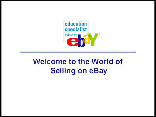 answer your question about selling on eBay