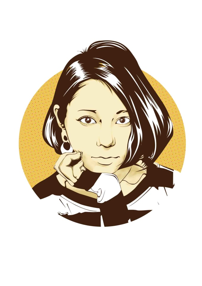 Draw Your Portrait Vector Illustration In My Style By Wastoki