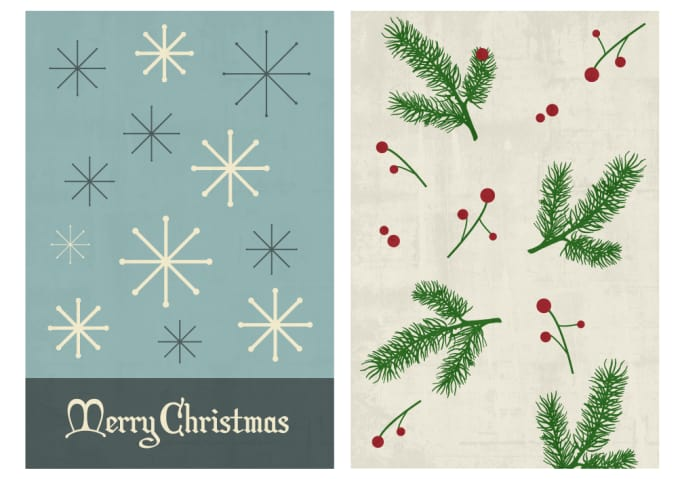 Minimalist Christmas.Design A Very Minimalist Christmas Artwork