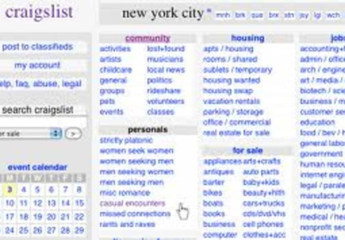 Promote your website on craigslist nationwide 10 ads by Ny5001