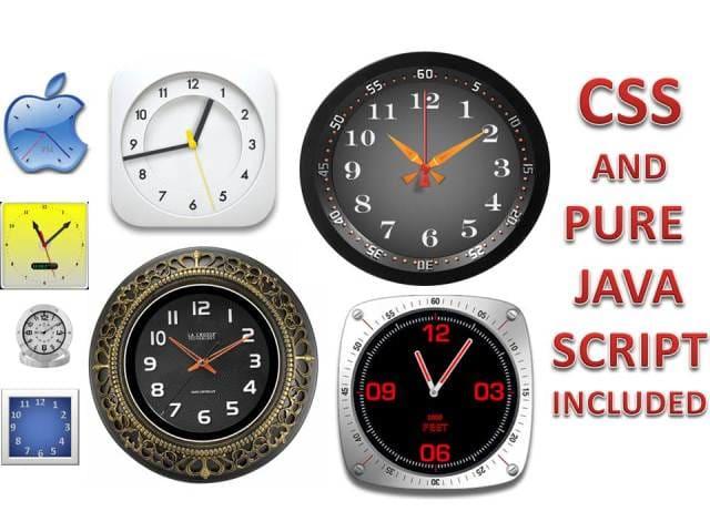 tiffawriter : I will design a responsive clock for your website for $5 on  www fiverr com