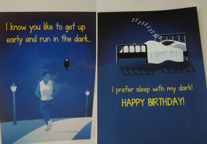 Make You A Cool Happy Birthday Card For A Male Or Female Runner By