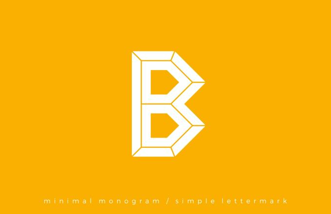 Design A Professional Minimalist Monogram Letter Mark Logo