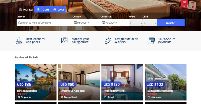 do a complete travel booking system and hotel booking system