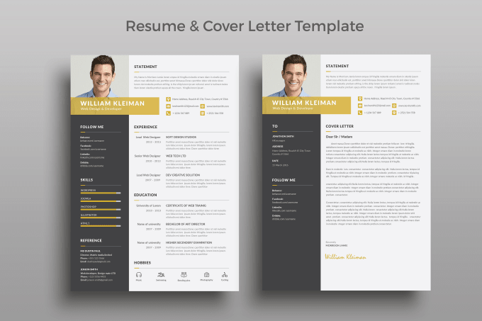 revamp your resume  cv  cover letter  linkedin profile by