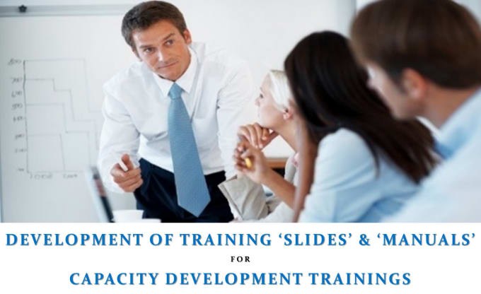 develop training manuals presentations and workbooks by ideasculptor