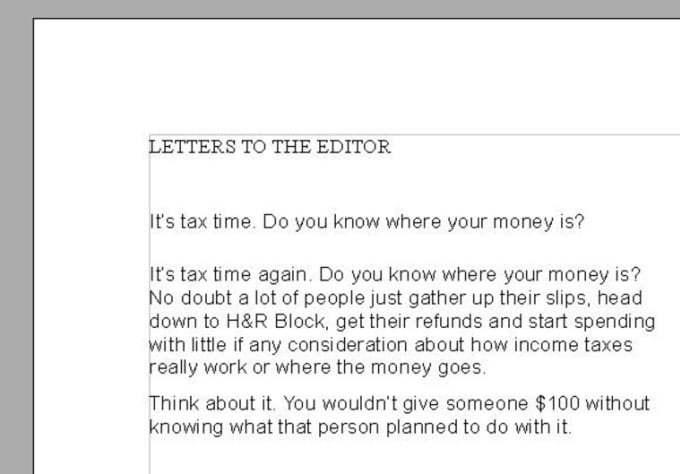 Write a letter to the editor of your local newspaper by stevethewriter write a letter to the editor of your local newspaper spiritdancerdesigns Gallery
