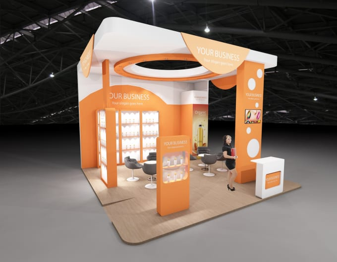 Exhibition Stand Layout Design : Create d design for your exhibition stand by insaia