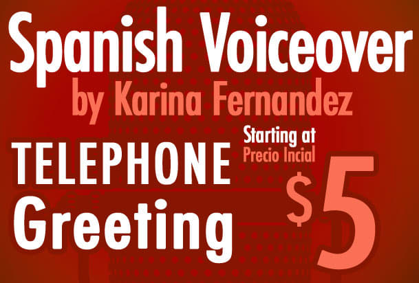 Record a voicemail greeting in spanish by karpao record a voicemail greeting in spanish m4hsunfo