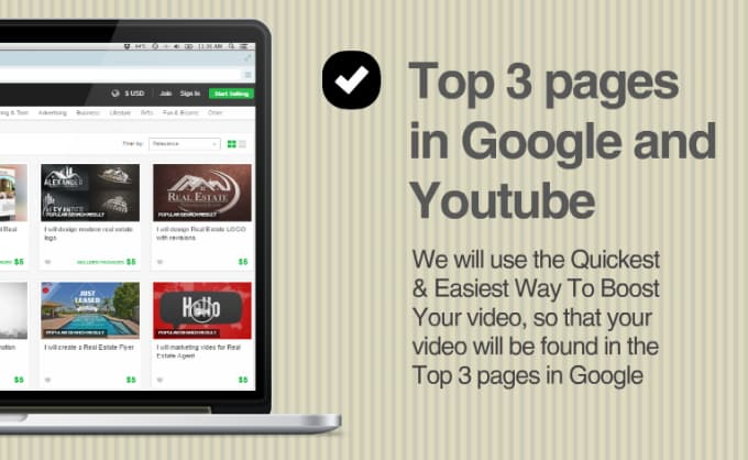 rank your product video in google top 3 pages with video seo