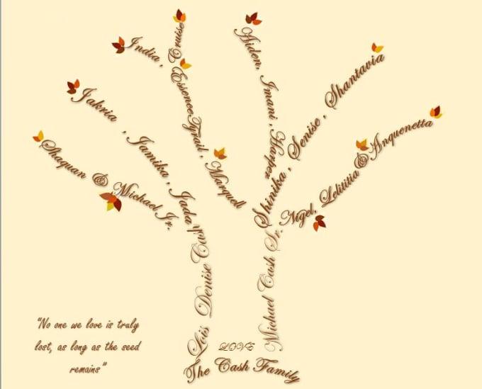 Create A Unique Tree Word Art By Alishashahid626