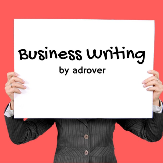 Write A Persuasive Business Letter Or Sales Pitch By Adrover