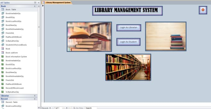 Provide You Readymade Database Project Management System By Mharis0341