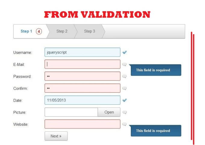 Create Php Contact Form Validation Bootstrap Jquer