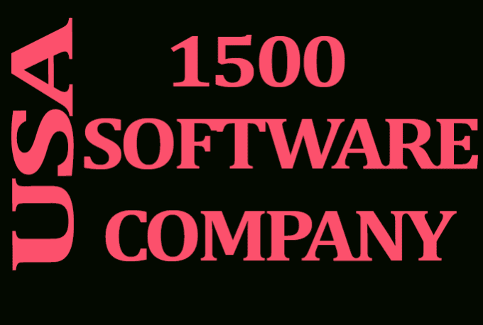 usa_database : I will give you 1500 USA software companies contact list for  $5 on www fiverr com