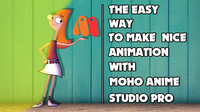 create the character and make the animation