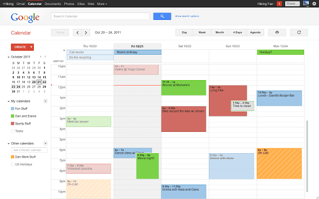 export Google Calendar Events to Excel