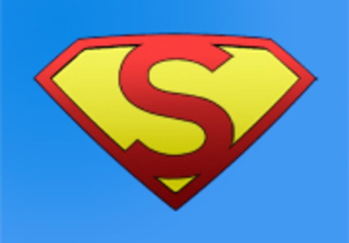 send a whole alphabet of superman logos by pinkpoint