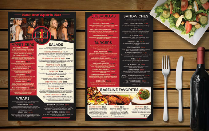 create a beautiful restaurant menu by midoridesign