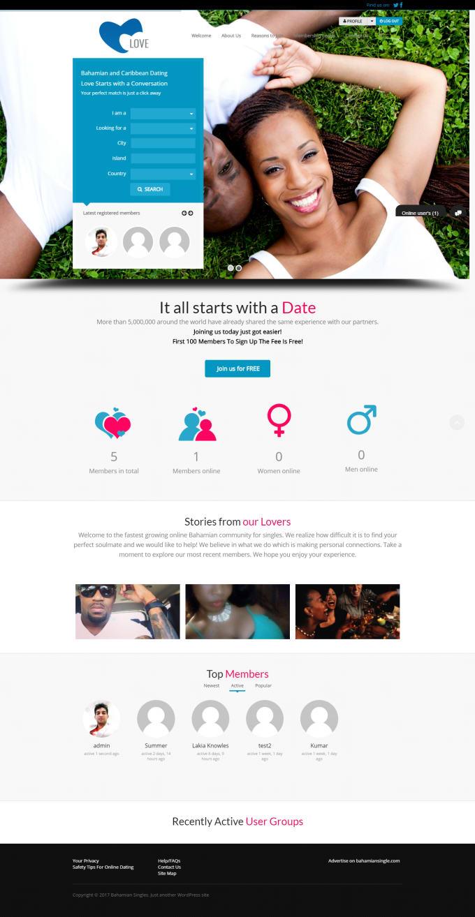 Caribbean dating site