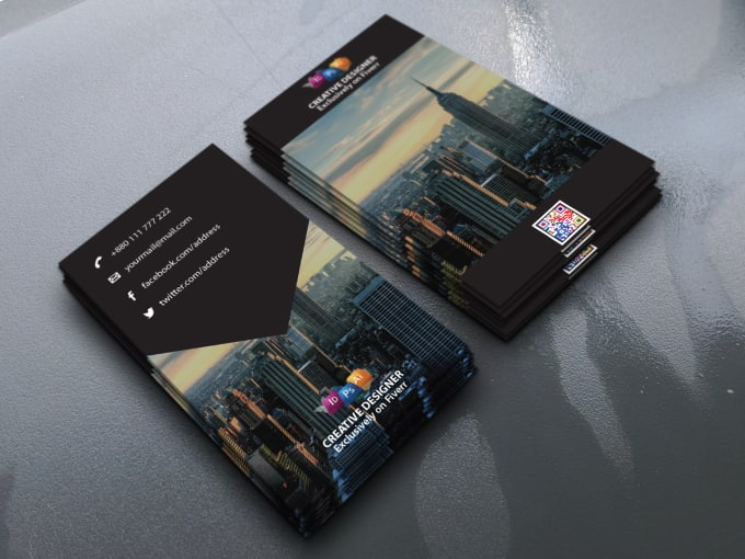 24 best visiting card design services to buy online fiverr design outstanding 2side business card in 6 hrs colourmoves