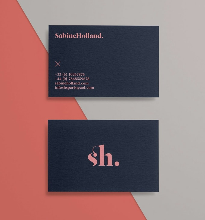 Design a logo and a business card that speaks for you by Juliascott5