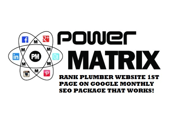 rank plumber website first page on google local seo
