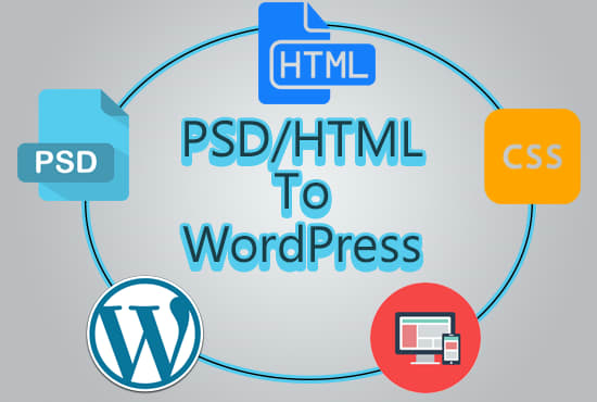 Convert your html template to wordpress theme by Kennedy93