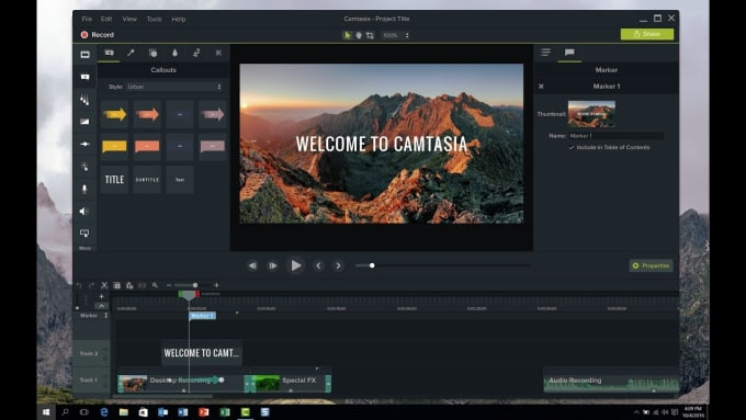 I Will Edit Videos Using Camtasia 8 And 9