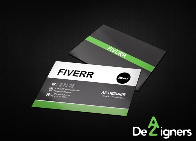 Design outstanding business cards and stationary in 24 hour by adizahid design outstanding business cards and stationary in 24 hour colourmoves