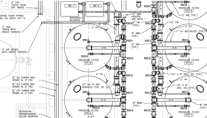 i will develop and review equipment and piping layout drawings