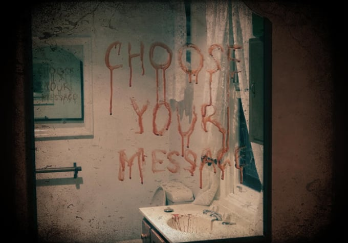 Clear Choice Reviews >> Send you your message on a mirror in blood by Mroutrageous