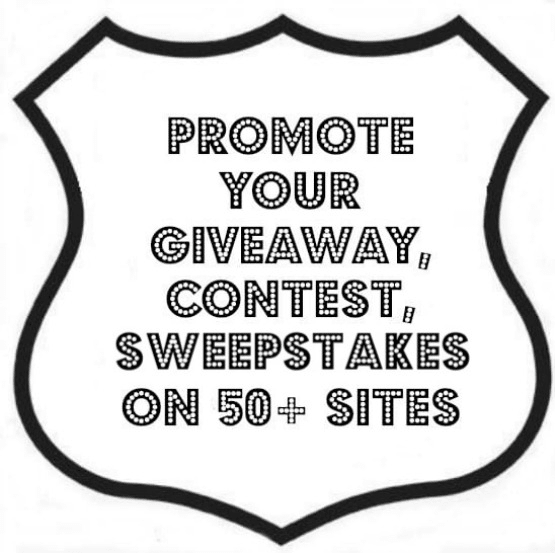 promote your giveaway, contest and sweepstakes on 50 sites