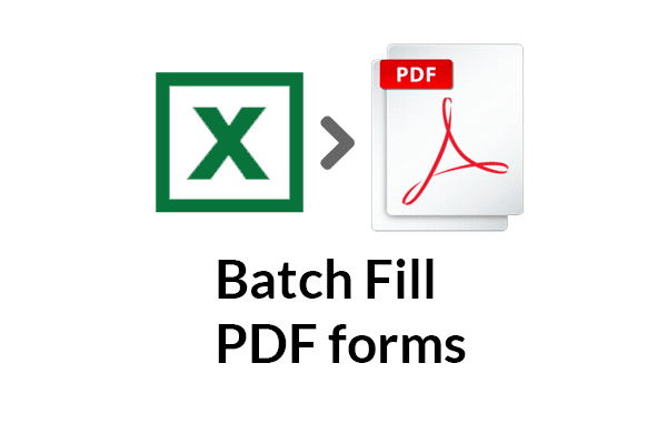 use excel data in csv to batch fill pdf forms by mrchiu