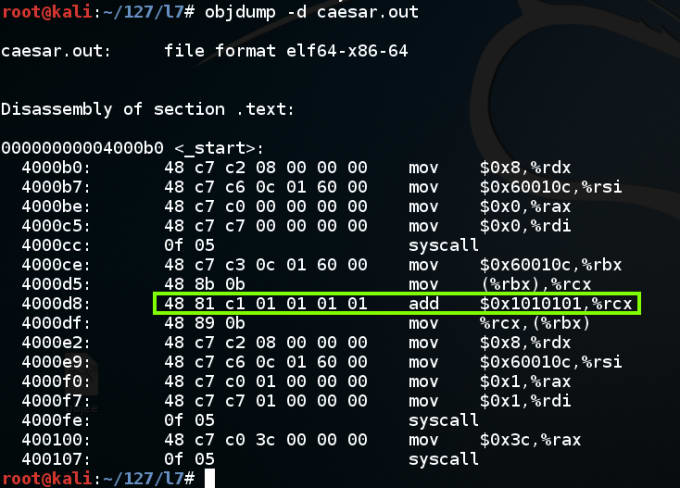 reverse engineer your binary file with x86 machine code by seg fault