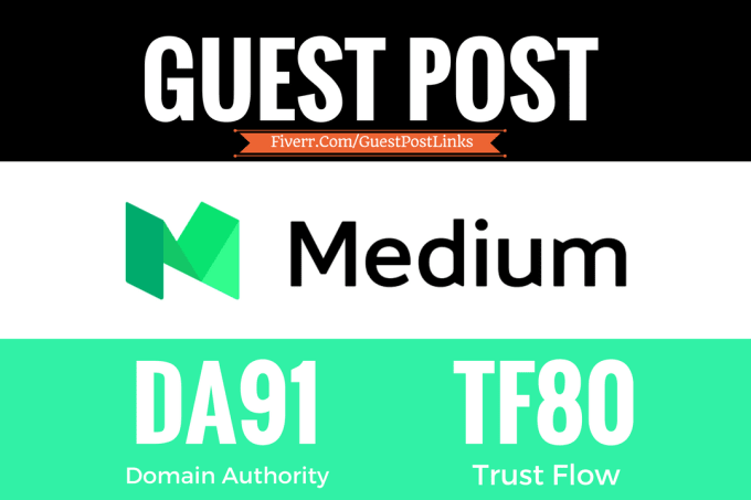 publish a Guest Post on MEDIUM TF79 and DA91 Website