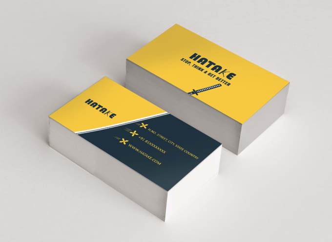 Make A Perfect Business Card By Hatake0795