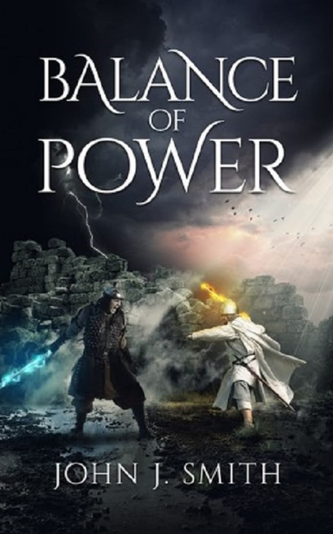 Fantasy Book Cover Maker ~ Make dark fantasy book cover design by suchi