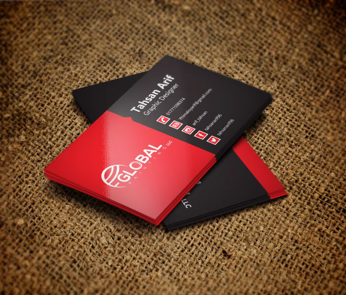Do Awesome Business Card Design Within Source File By Himaloyarif