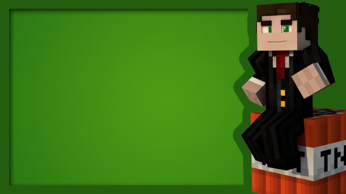 Make A Amazing Minecraft Wallpaper By Trystargraphics