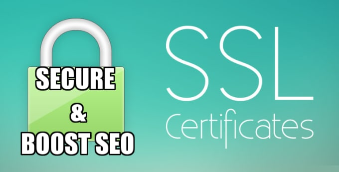 install ssl certificate to secure site and boost seo